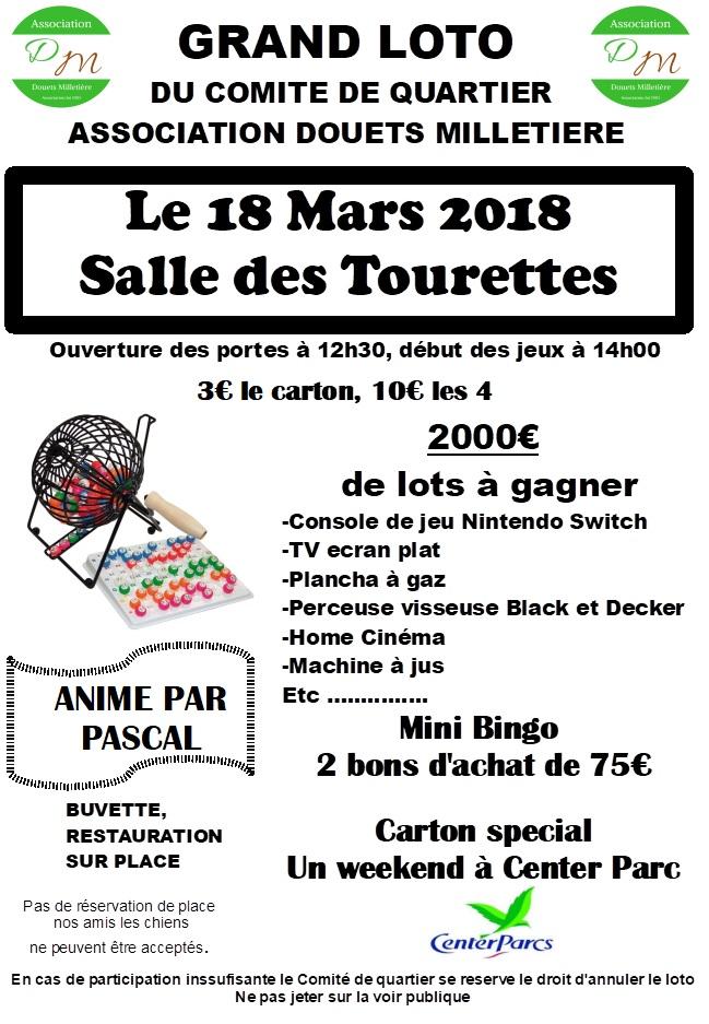 GRAND LOTO @ SALLE DES TOURETTES | Tours | Centre-Val de Loire | France